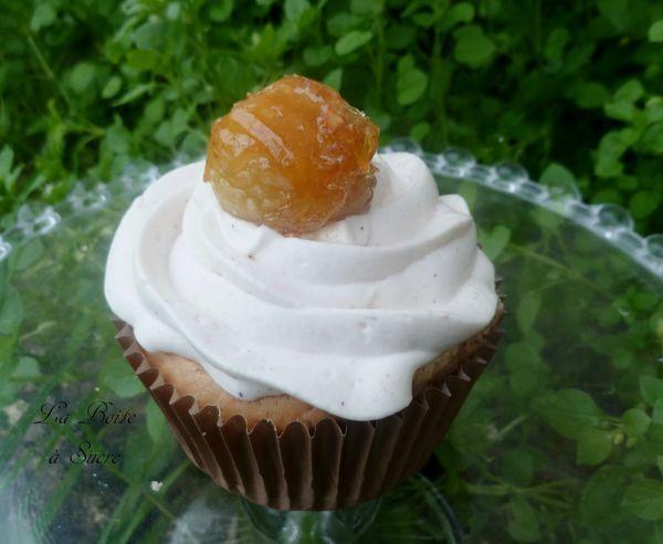 Cupcakes aux marrons 1