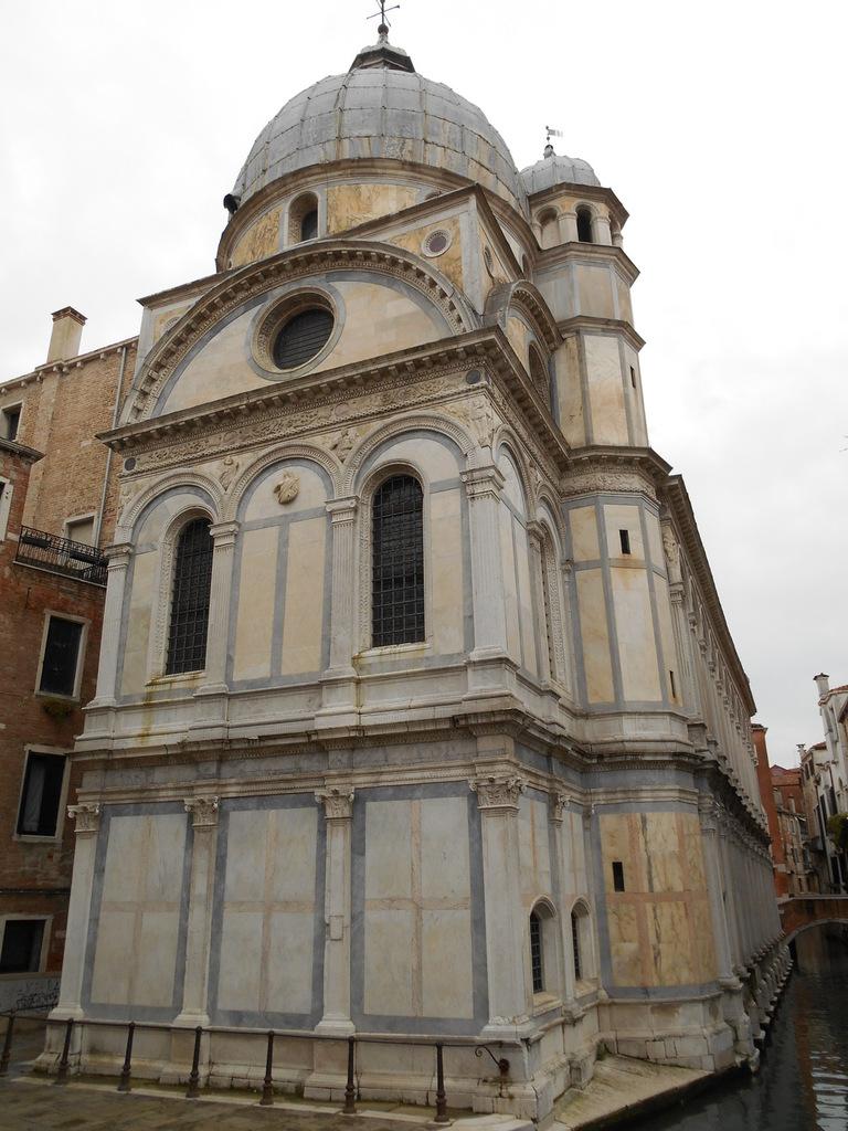 Dernière église: Santa Maria dei Miracoli...