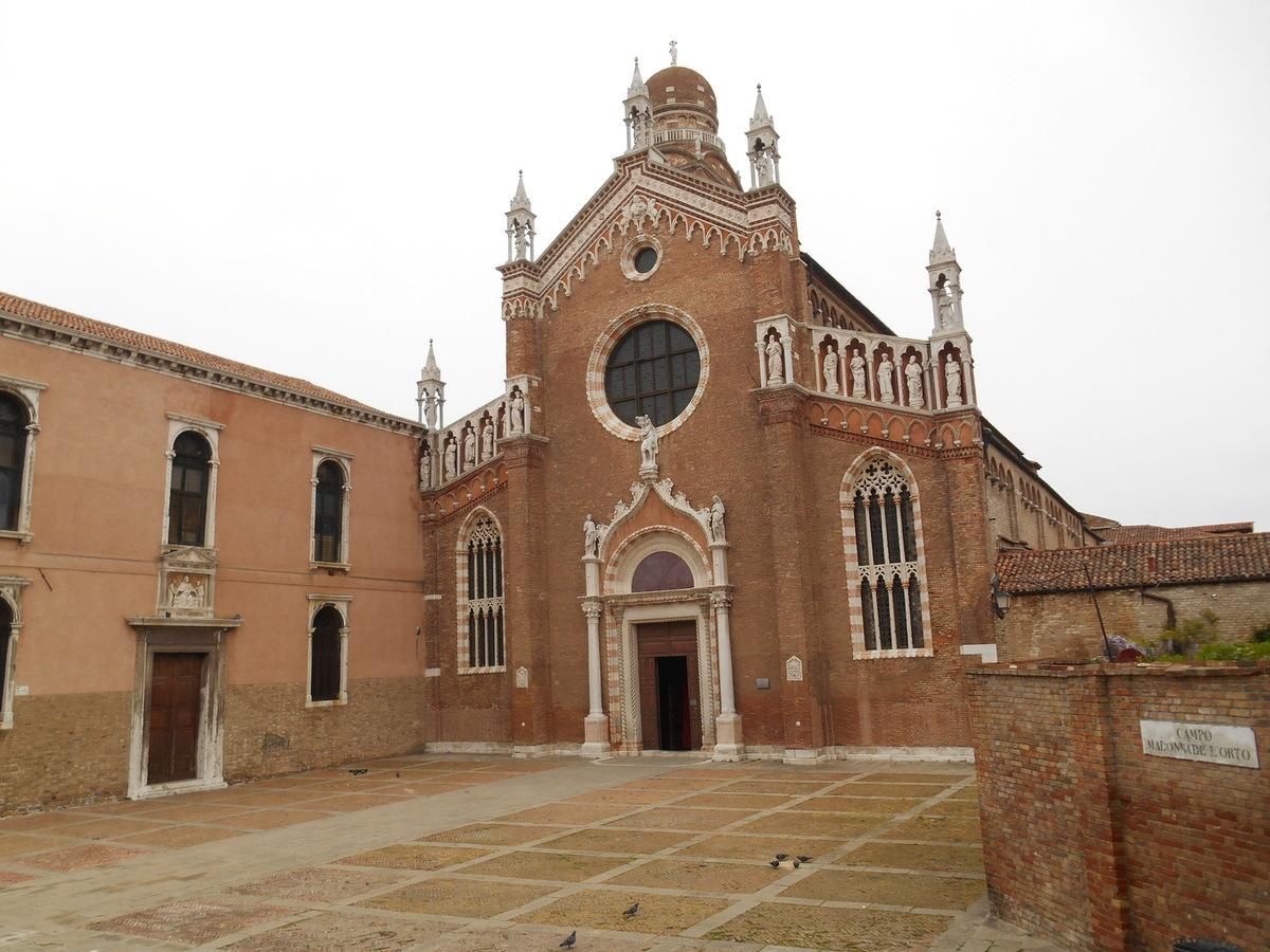 L'église de la Madonna dell'Orto...l'église du Tintoret où repose le peintre.