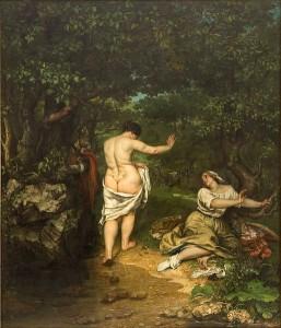 «Transferts de Courbet» ou le peintre du chevalet au divan 2