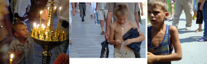 yalta gamins blonds russes