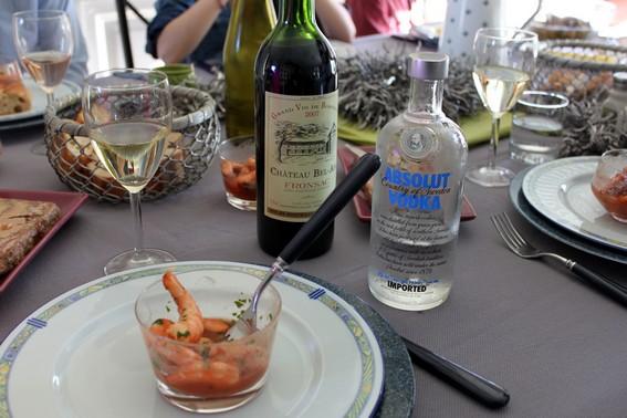 Crevettes à la canadienne : recette de crevettes à la vodka 2