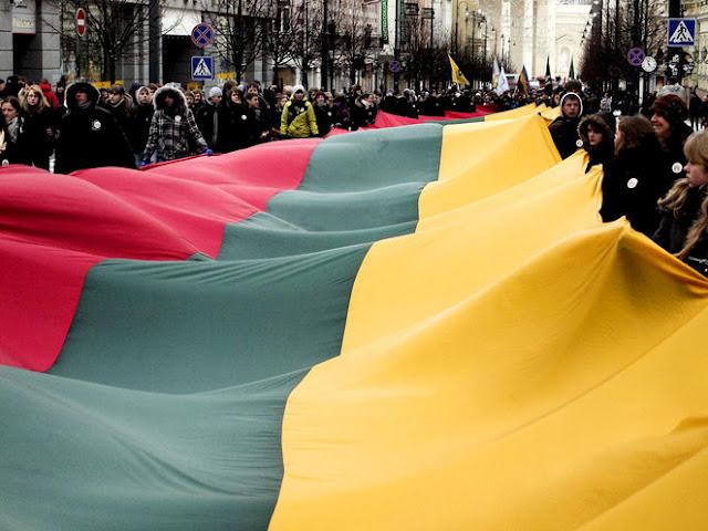 16 Février 1918: déclaration d'indépendance de la Lituanie 1