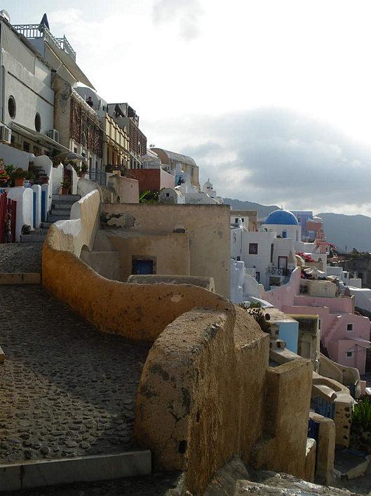 maison à oia cyclades grece