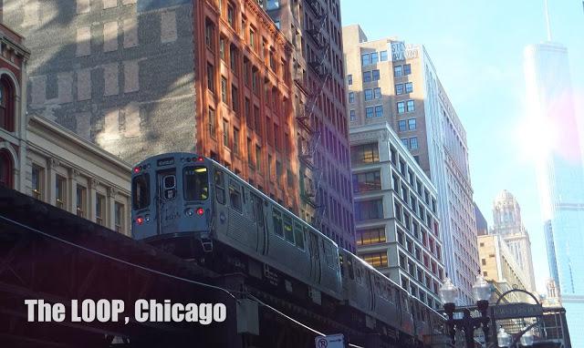 Chicago : Le Loop, aventures dans le train suspendu 1