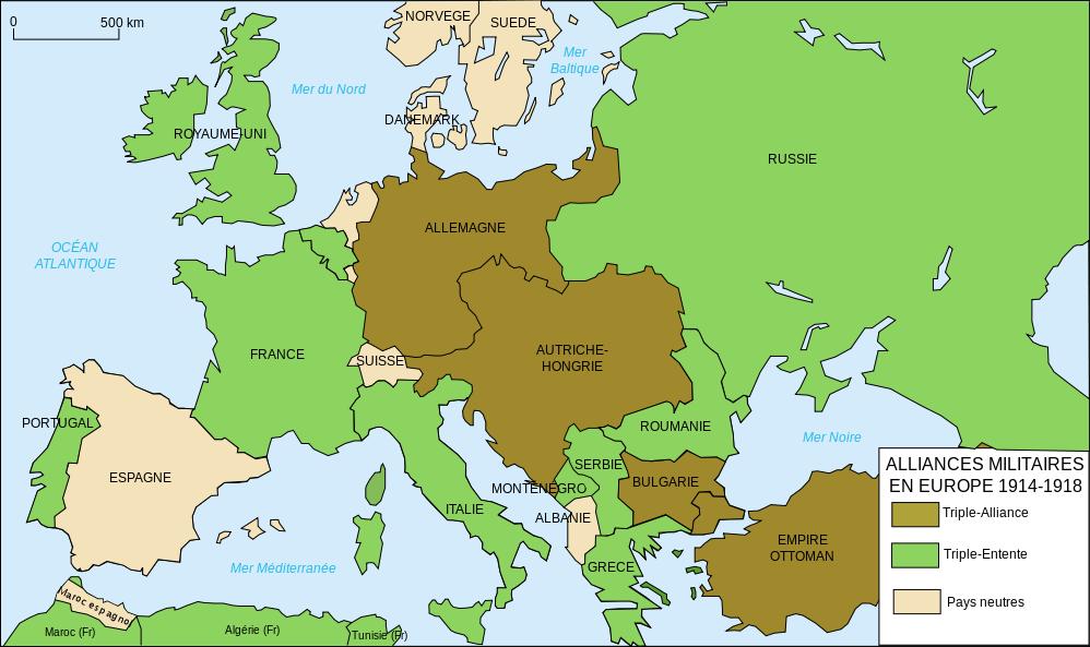 Attentat de Sarajevo du 28 Juin 1914 : vers la montée de la 1ère Guerre mondiale? 9