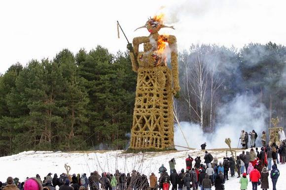 Carnaval Užgavėnės : Traditions en Lituanie pour dire aurevoir à l'hiver 3