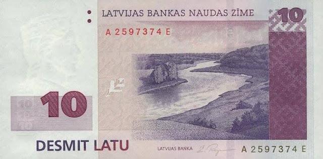 De l'ambre à l'Euro ; l'histoire de la Lettonie à travers ses monnaies 6