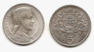 De l'ambre à l'Euro ; l'histoire de la Lettonie à travers ses monnaies 5