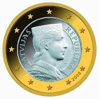 De l'ambre à l'Euro ; l'histoire de la Lettonie à travers ses monnaies 2