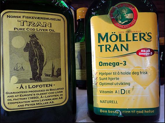 huile de foie de morue Lofoten