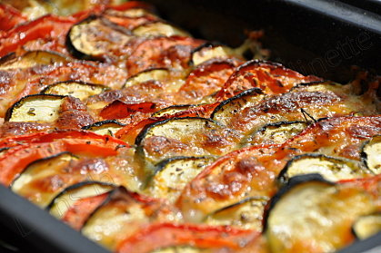 tian courgette tomate moza 2