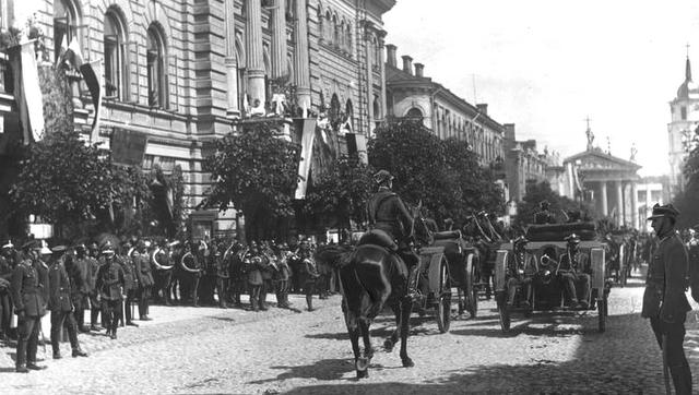 8 Octobre 1920 : le général polonais Lucjan Żeligowski attaque Vilnius 5