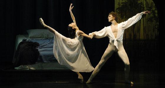 Romeo und Julia. Lucia Lacarra, Marlon Dino. ©Charles Tandy