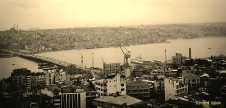 Pont Atatürk istanbul Corne d'Or
