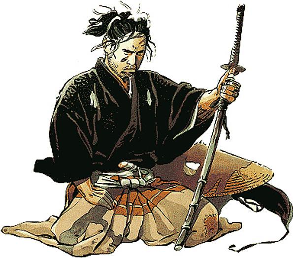 samourai dessin