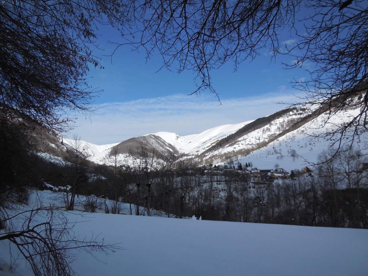 Le village de Saint Paul d'Oueil.