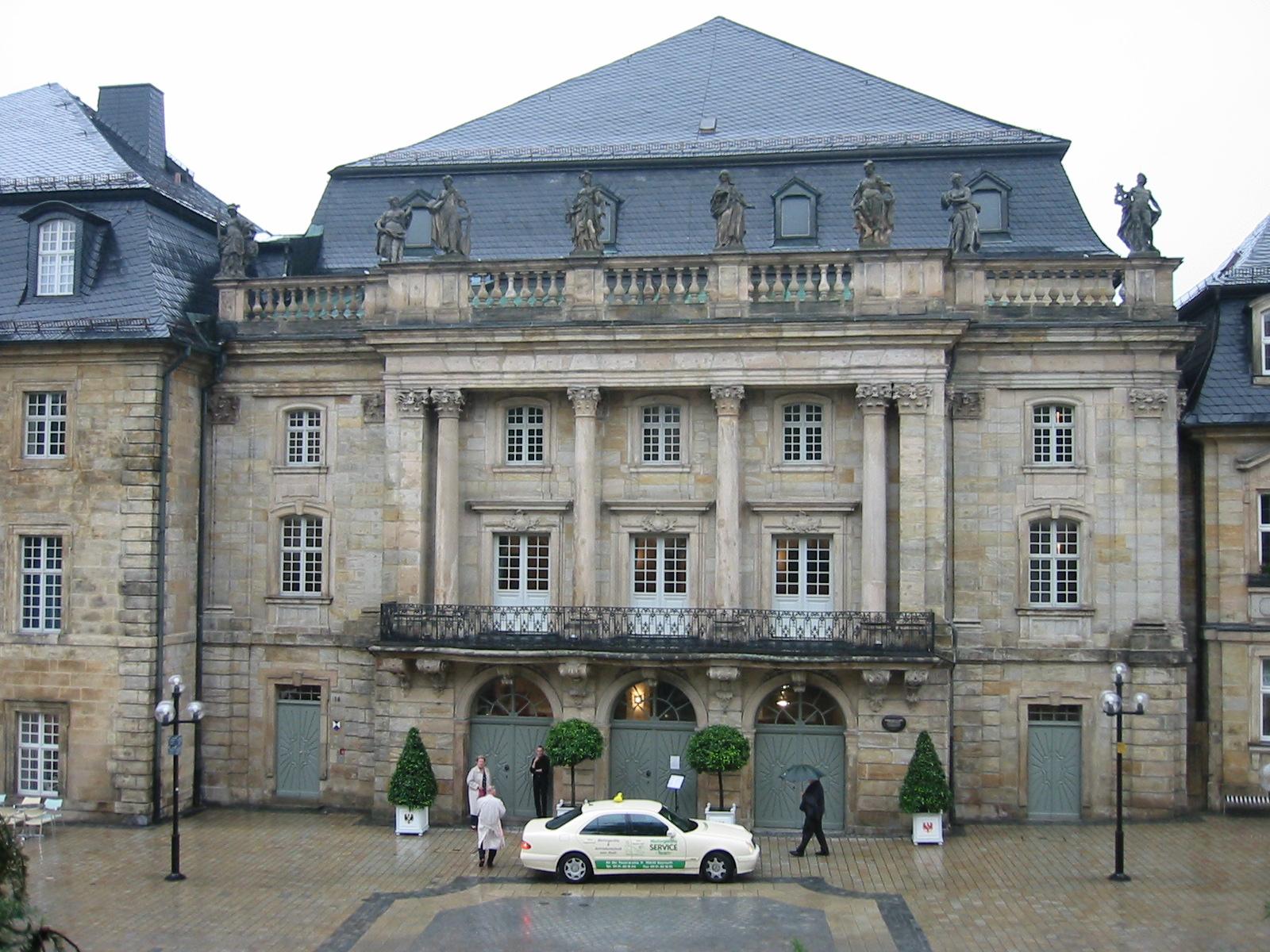L'Opéra des Margraves de Bayreuth inscrit au patrimoine mondial de l'humanité 1