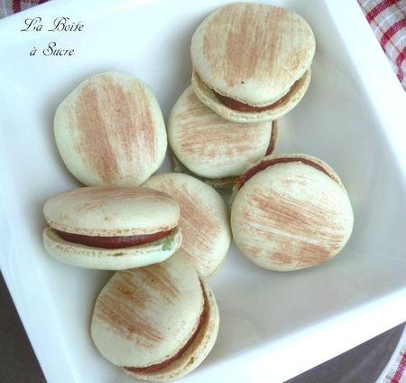 Macarons choco caramel 3