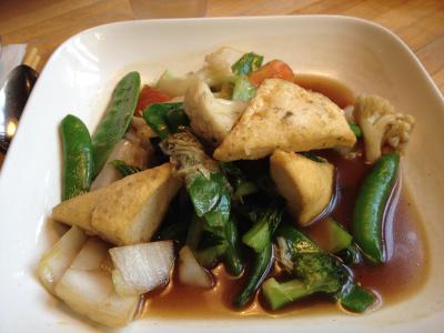 wok vegetarien