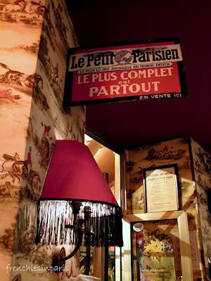 Chez Irene et Bernard Cafe Paris 17