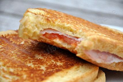 croque bacon gorgonzola