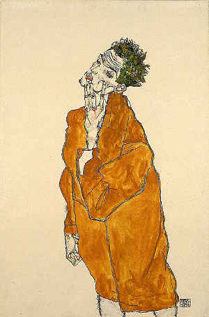 Exposition Munich - Egon Schiel au Kunstbau de la Lenbachhaus (jusqu'au 4 mars 2012) 1