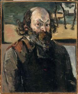 cezanne autoportrait 1875