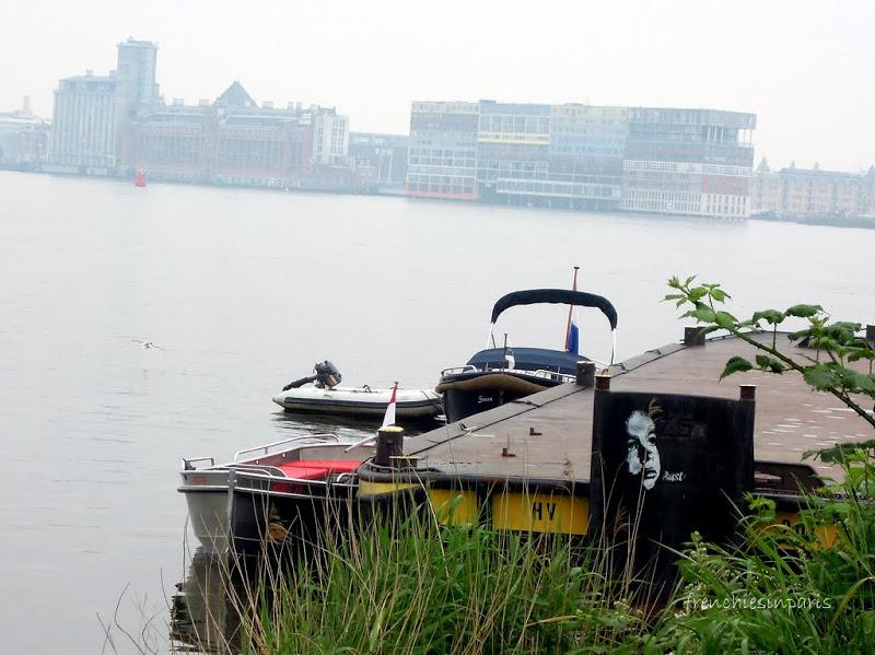 Amsterdam insolite et alternatif ; une zone industrielle abritant des ateliers d'artistes 13