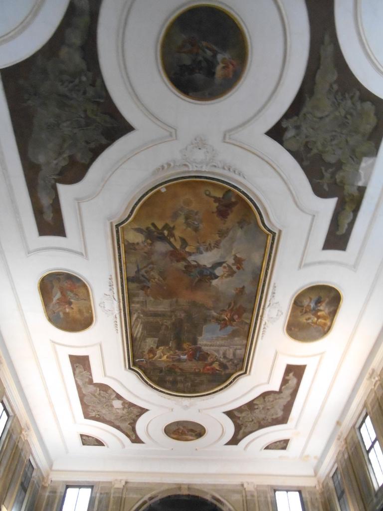 Plafond du XVIème réalisé par Fabio Canal.