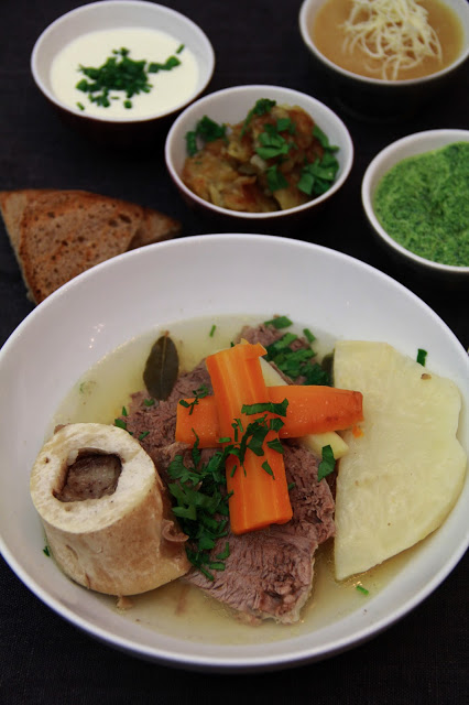 Tafelspitz ; recette du pot au feu autrichien, le plat préféré de l'empereur François Joseph 1
