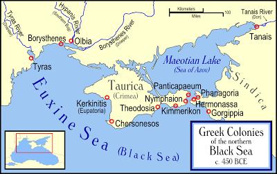 La cité antique de Chersonèse Taurique en Crimée inscrite à l'UNESCO (Ukraine) 1