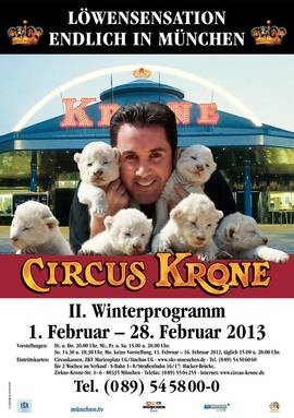 Circus Krone, le plus grand cirque d'Europe: une institution à Munich! 1
