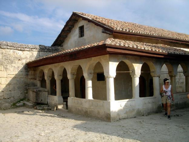 chapelle chufut kale