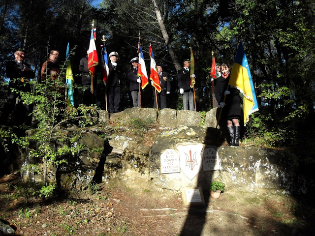 Hommage aux Légionnaires ukrainiens de Peynier 12