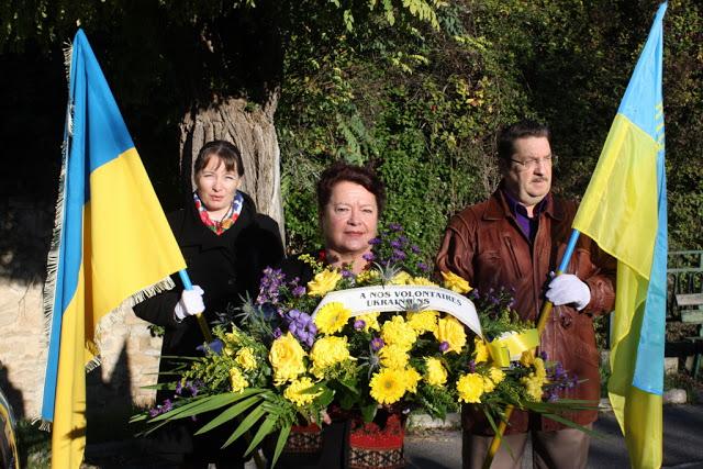 Hommage aux Légionnaires ukrainiens de Peynier 11