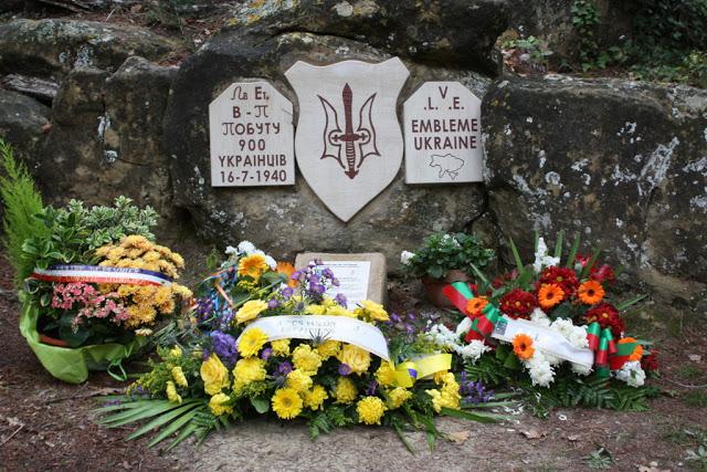 Hommage aux Légionnaires ukrainiens de Peynier 10