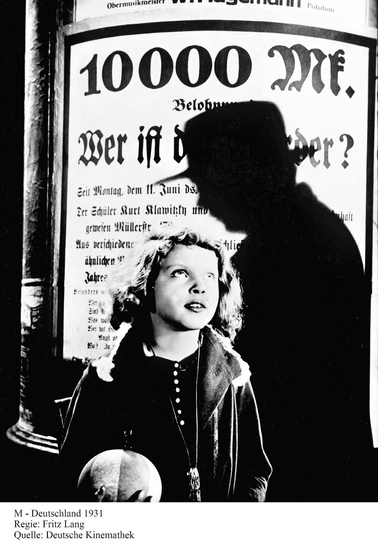 Lumière et ombre, photographies du cinéma au temps de la République de Weimar