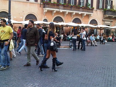 Guide Rome  - Piazza Navona, pêle-mêle du dimanche 4