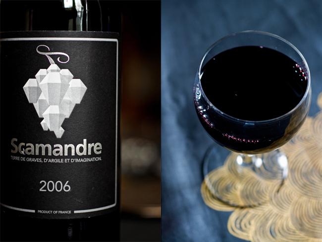 scamandre vin du rhone