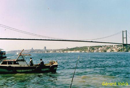 Pont sur le Bopshore istanbul