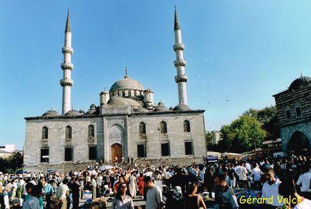 Nouvelle Mosquée à Eminönü istanbul