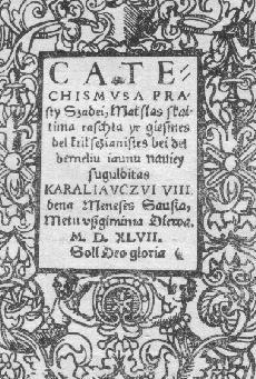 21 Mai 1563 : mort de Martynas Mažvydas 2