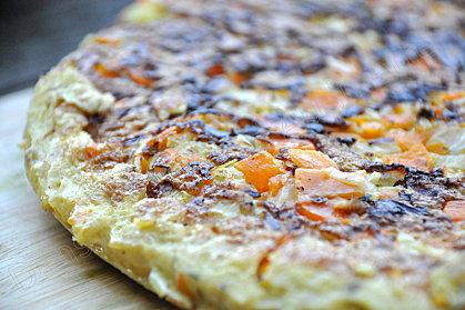 fritatta carottes oignons poireaux recette italienne
