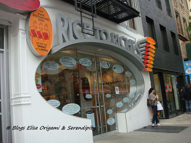 Rice to Riches manhattan new york