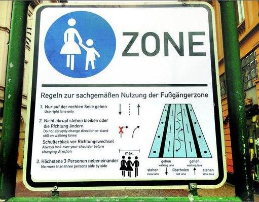 Vivre en allemagne humour anglais l 39 allemande en zone for Humour anglais