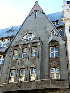 Le Riga Art Nouveau d'Eižens Laube (Tourisme Riga Lettonie) 2