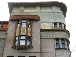 Le Riga Art Nouveau d'Eižens Laube (Tourisme Riga Lettonie) 3