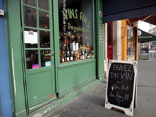 buvez du vin bar parisien