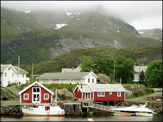 sorvagen port Lofoten